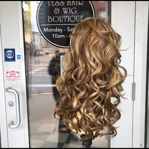 Accessories - Wig Blonde Mix New wig sale Lacefront L Curls Long